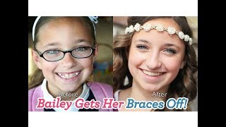 Download Bailey Gets Her Braces Off! Video