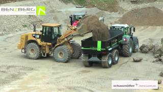 Download 24 t Schwerlast Hardox Mulde, Benzberg TX24 Video
