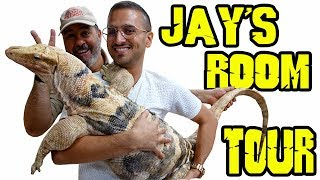 Download Jay's REPTILE Room Tour Video