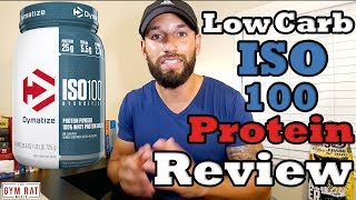 Download ISO 100 Protein | Low Carb Protein | Dymatize Supplement Review Video