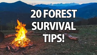 Download 20 Wilderness Survival Tips! Video
