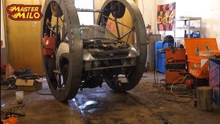 Download Two wheeled car build & test! pt3 (Di-wheel) Video