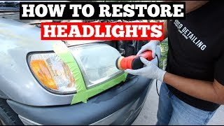 Download HOW To RESTORE Foggy Headlights - Everything You Need To Know - Headlight Restoration Guide Video