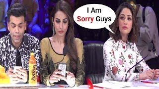 Download Malaika Arora Khan And Karan Johar Ignores Yami Gautam For Coming Late At Indian's Got Talent Set Video