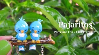 Download Pajaritos en Porcelana Fria / Cold Porcelain Video