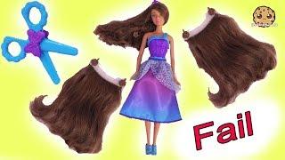 Download Hair Extension Fail ! Long Hair Princess Barbie Toy Play Video Video