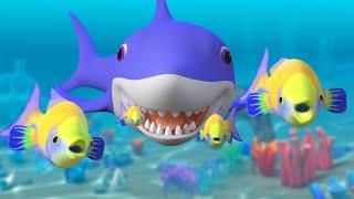 Download Baby Shark Song Challenge + More Nursery Rhymes & Kids Songs | Sharks Cartoon Video
