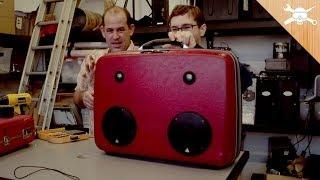 Download Build a Custom Suitcase Boom Box! Video