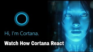 Download Cortana Answering Tricky Questions On Windows 10 | Tech Vision Video