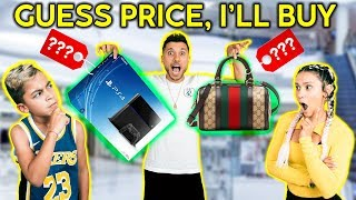 Download If You GUESS THE PRICE, I'll BUY IT FOR YOU! *CHALLENGE*   The Royalty Family Video