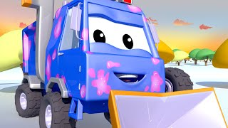 Download Sam the Snow Plow - Tom the Tow Truck's Car Wash   Cars cartoons for kids Video