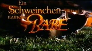 Download Ein Schweinchen namens Babe - Trailer (1995) Video
