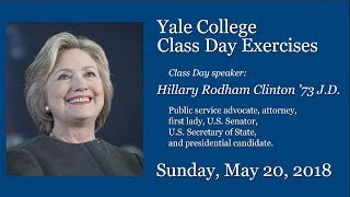 Download Yale College Class Day Exercises Video