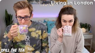 Download Living in London | Spill the Tea| Evan Edinger & Lucy Moon Video