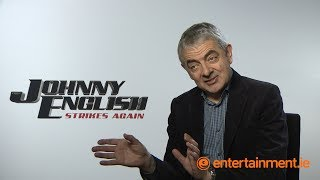 Download Rowan Atkinson on making timeless comedy   Johnny English Strikes Again Video