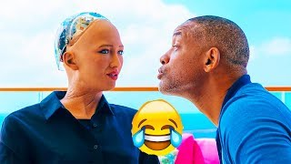 Download Will Smith Tried To Kiss Sophia AI Robot - See what happened next Video