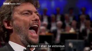 Download Puccini: Nessun Dorma from 'Turandot' - BBC Proms Video