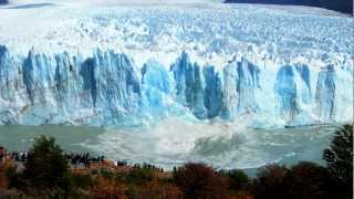 Download Glaciar Perito Moreno - Increíble caída bloque de hielo Video
