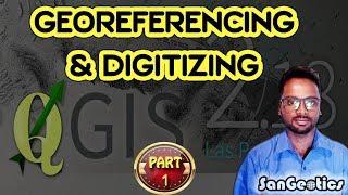 Download How to Georeference in QGIS | Sanjib Mandal | SanGeotics Video