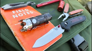Download Tim's Everyday Carry Bag and Gear: Benchmade, Leatherman, Osprey, Jet Beam, CRKT and More Video