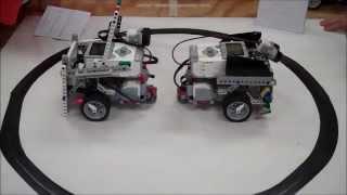 Download Lego EV3 Robot Sumo Wrestling BattleBots Challenge Video