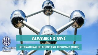 Download Advanced MSc International Relations and Diplomacy (MIRD) Leiden University Video