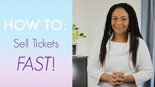 Download How To Sell Tickets FAST! [Event Planning Tips] Video