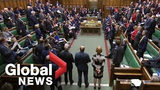 Download UK parliament debate on Brexit draft agreement with EU Video
