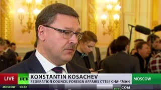 Download Konstantin Kosachev speaks to RT after Putin's address to Federal Assembly Video