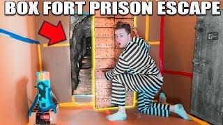 Download 24 HOUR BOX FORT PRISON ESCAPE ROOM!! 📦🚔 Top Secret Passage To Escape! Video