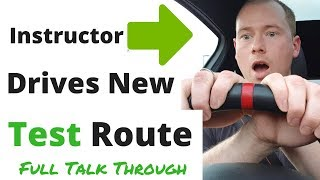 Download Instructor Drives New Driving Test Route - Full Talk Through Video