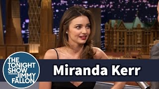 Download Miranda Kerr Learned to Drive a Stick Shift at Age Eight Video