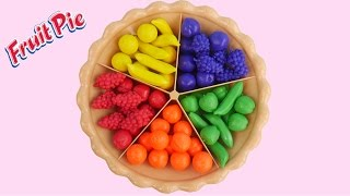 Download Learn Colors Fruits Sorting Pie Play Doh Balls Strawberry Molds Creative Kid Fun SparkleSpiceFun Video