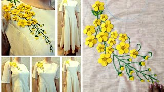 Download 3D Creative & unique design on chudidhar Top | patchwork | hand embroidery Video