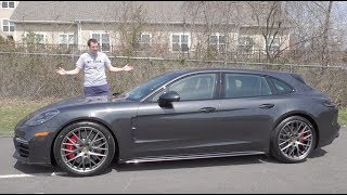 Download The $180,000 Porsche Panamera Sport Turismo Is the Most Expensive Wagon Ever Video
