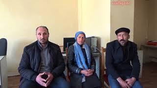 Download Baş Prokurorluğa gələn İmişli sakinləri yaxınlarının qətlə yetirilməsini iddia edir Video