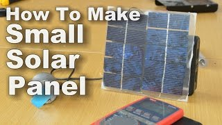 Download How To Make Small Solar Panel Video