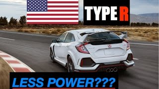 Download Why 2018 Honda Civic Type R has Less Power in America - Inside Lane Video