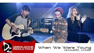 Download When We Were Young (Adele Cover Acoustic) - Sam Mangubat feat. Billy Padillo Video
