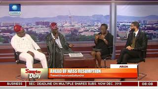 Download Okoye, Tanko Hint Looming Danger Over Unhealthy Nat'l Politics, 2019 Elections Pt.4 |Sunrise Daily| Video