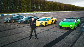 Download THE ULTIMATE SUPERCAR DRAG RACE PART IV - XMAS SPECIAL Video