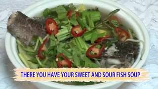 Download Sour Soup with Snakehead Fish Full Recipe (Canh Chua Cá Lóc) Video