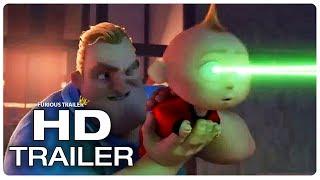 Download INCREDIBLES 2 Mr. Incredible Uses Jack Jack To Shoot Lasers Trailer (NEW 2018) Superhero Movie HD Video