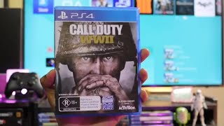 Download Call of Duty WW2 Game Unboxing for PS4 Pro Video
