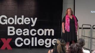 Download Your Example Is More Important Than Your Opinion | Karen Randall | TEDxGoldeyBeacomCollege Video