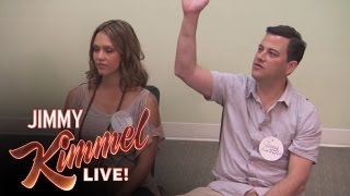 Download Jimmy Kimmel Takes Jessica Alba to Birthing Class Video