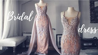Download MAKING A WEDDING PARTY DRESS | SECOND WEDDING DRESS Video