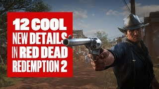 Download 12 cool details in new Red Dead Redemption 2 gameplay Video