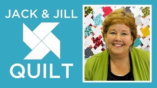 Download The Jack and Jill Quilt: Easy Quilting Tutorial with Jenny Doan of Missouri Star Quilt Co Video