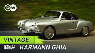 Download Vintage! Porsche-powered Karmann Ghia | Drive it! Video